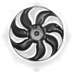 Moteur de ventilateur de radiateur
